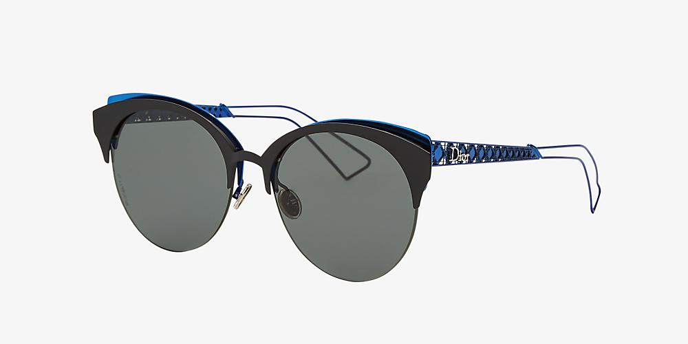 86533f1ab77b6 Christian Dior DIOR CLUBS 55 Grey-Black & Black Sunglasses ...