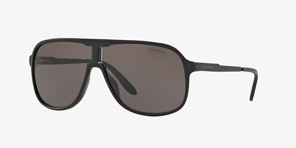9a73a685fa30 Carrera 5S000340 62 Grey-Black & Matte Black Sunglasses | Sunglass ...