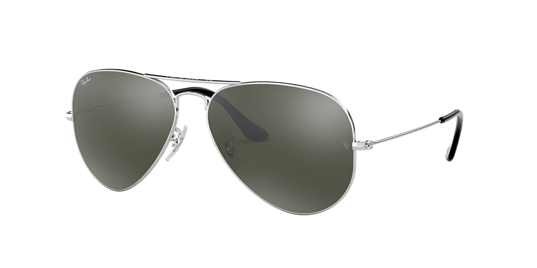 224b5d91b65 Ray-Ban RB3025 58 Silver Mirror   Silver Sunglasses