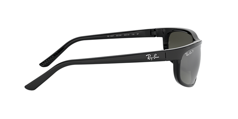 8df05fc721fa Ray-Ban RB2027 PREDATOR 2 62 Polarized Grey Mirror   Black Polarized ...