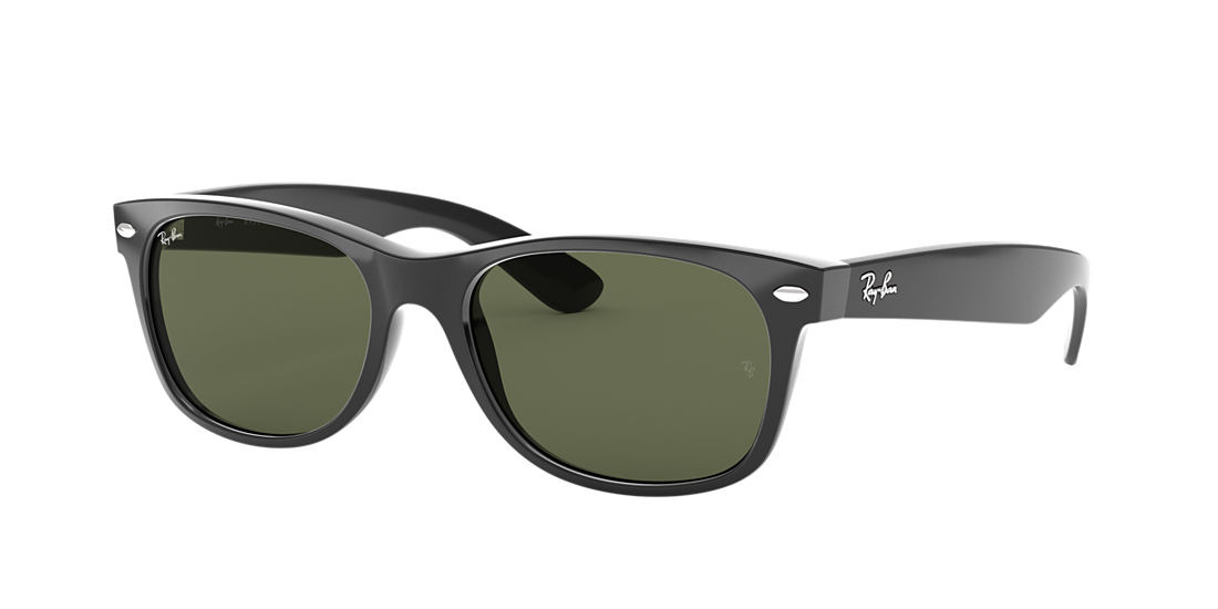 384dd89ea6 Ray-Ban RB2132 55 Green Classic G-15   Black Sunglasses