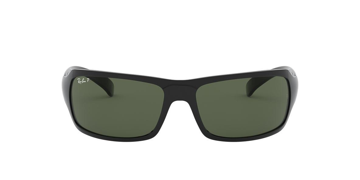 Black RB4075 Polarized Green Classic G-15  61