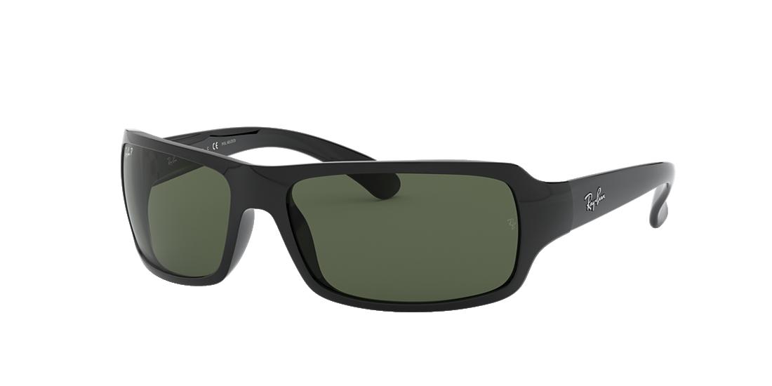 3c49ff2c4b2 Ray-Ban RB4075 61 Polarized Green Classic G-15   Black Polarized ...