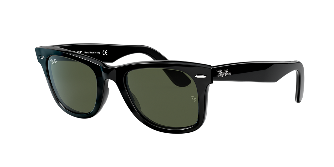 Ray-Ban RB2140 50 Green Classic G-15   Black Sunglasses  6f7ba10c8bab6
