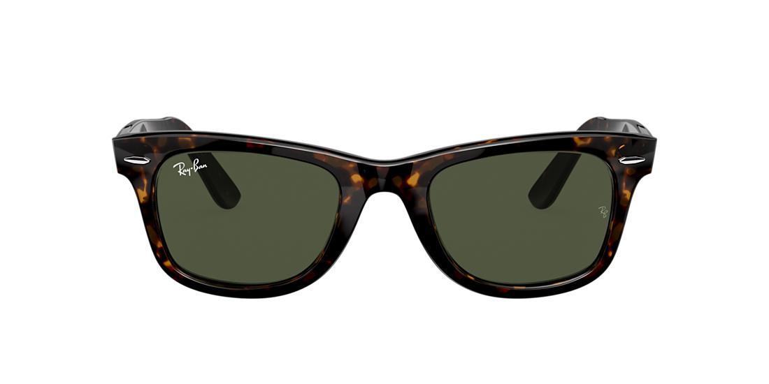 4d3f45fb40 Ray-Ban RB2140 50 Green Classic G-15   Tortoise Sunglasses ...
