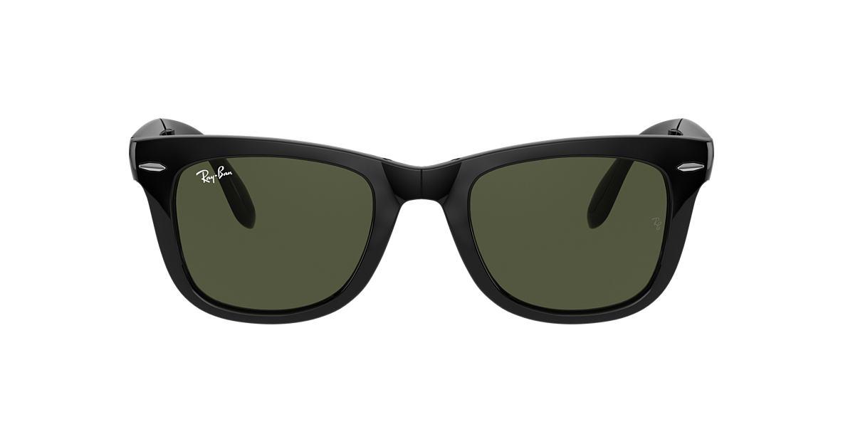 b57f1962fc9 Ray-Ban RB4105 50 Green Classic G-15   Black Sunglasses