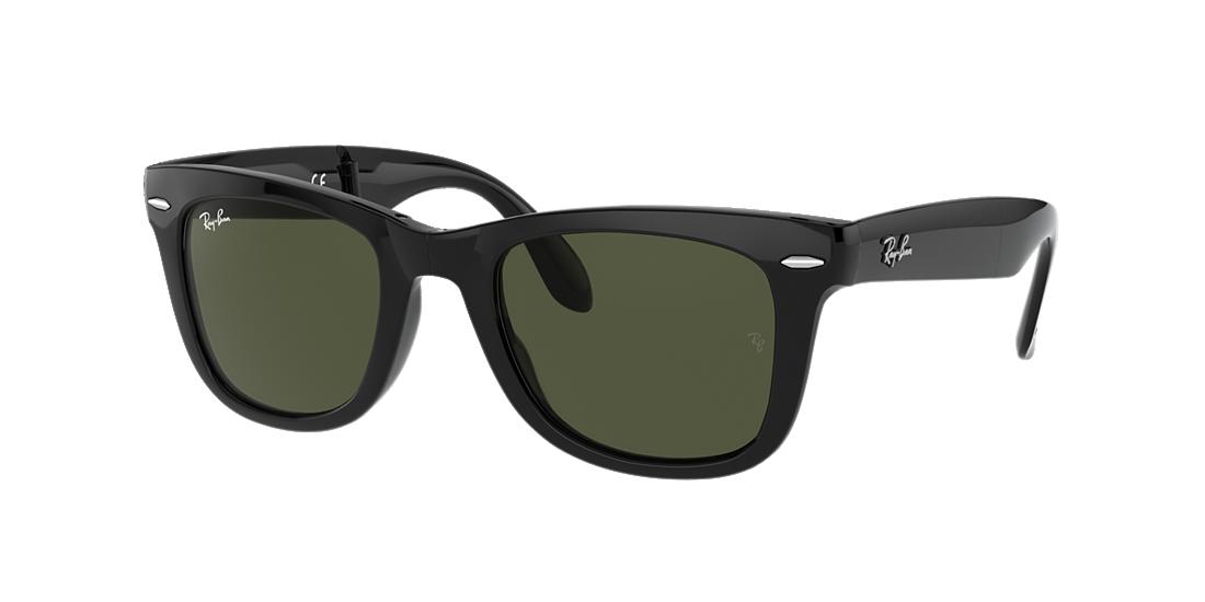 4894f8d36c Ray-Ban RB4105 50 Green Classic G-15   Black Sunglasses