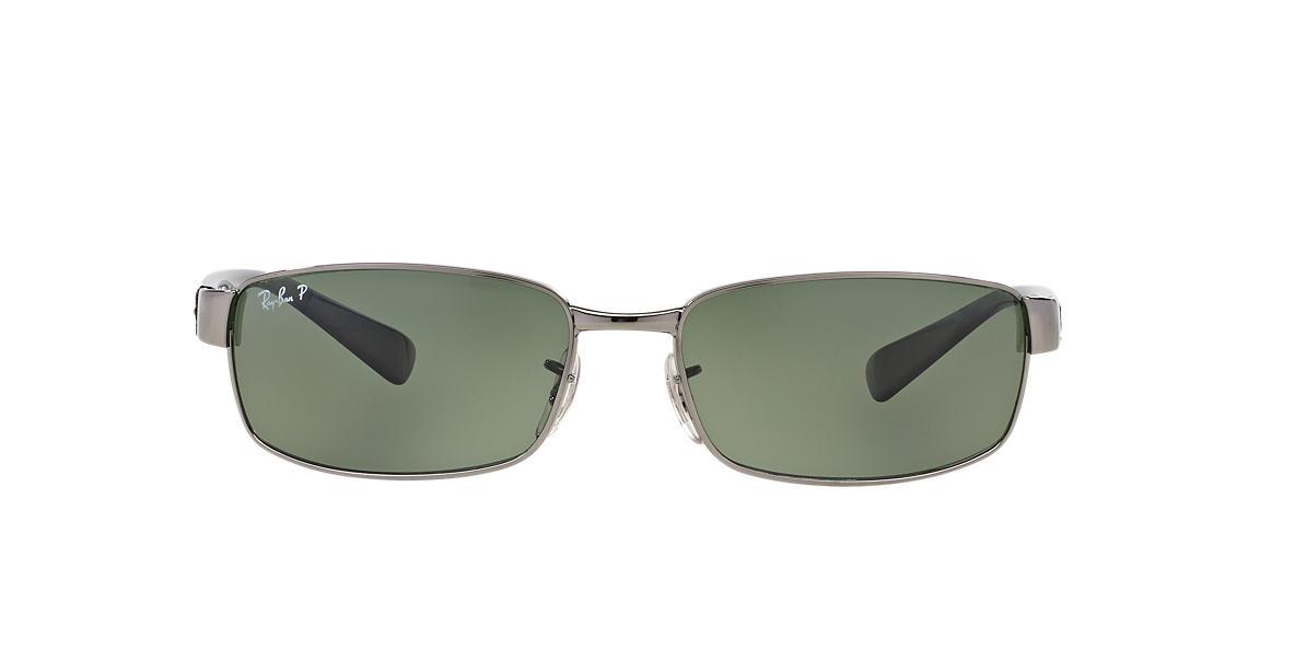 f75af821c59 Ray-Ban RB3364 62 Green Classic G-15   Gunmetal Sunglasses ...