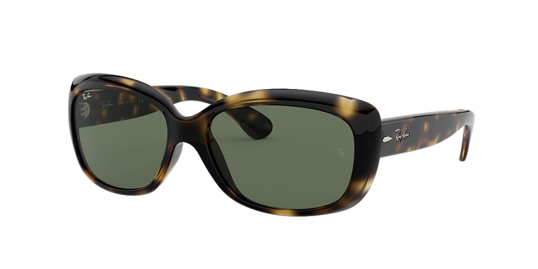 366e0084b9 Ray-Ban RB4101 58 Green Classic G-15   Tortoise Sunglasses ...
