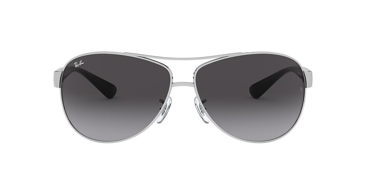 Silver RB3386 Grey-Black  63