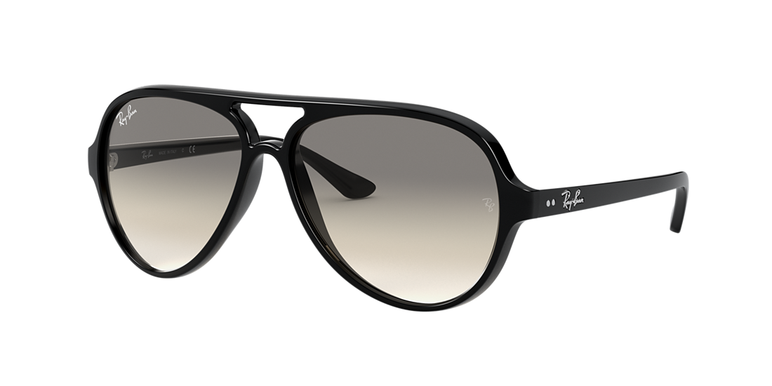 a40c026497b Ray-Ban RB4125 59 Light Grey Gradient   Black Sunglasses