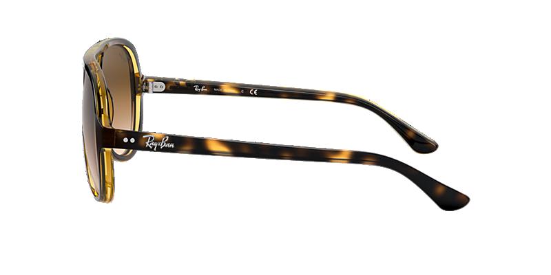 b208465de2c2 Ray-Ban RB4125 59 Light Brown Gradient   Tortoise Sunglasses ...