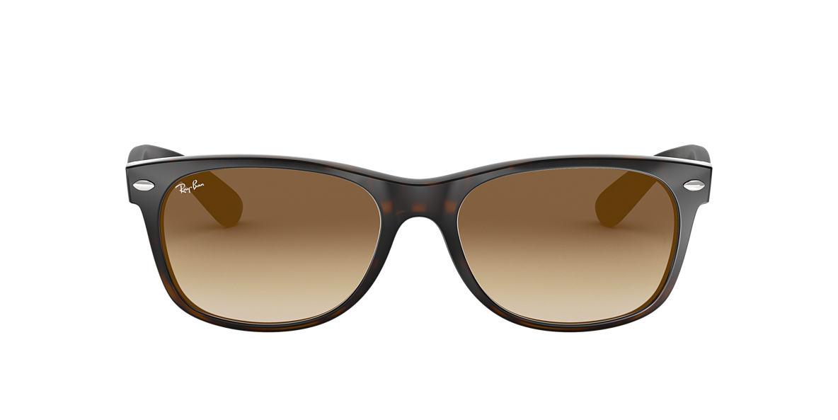 2ff7c917bb Ray-Ban RB2132 52 Light Brown Gradient   Tortoise Sunglasses ...