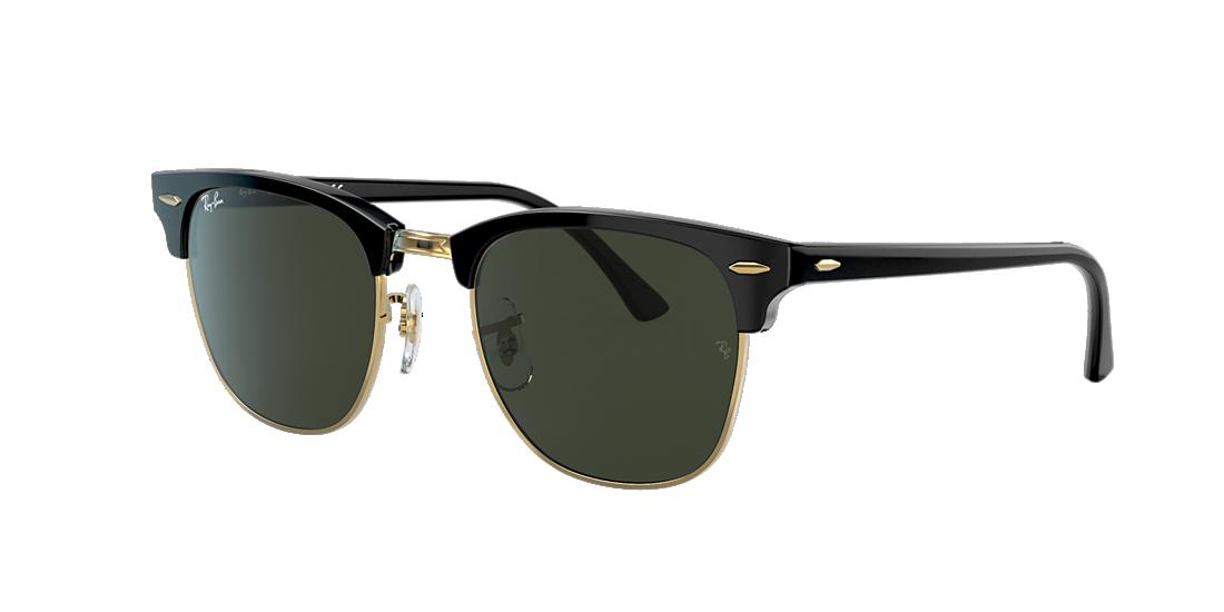 68096660196e Ray-Ban RB3016 51 Green Classic G-15   Black Sunglasses