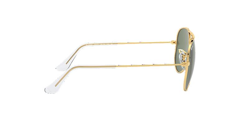 2cfecfee6a5 Ray-Ban RJ9506S AVIATOR KIDS 50 Green Classic   Gold Sunglasses ...