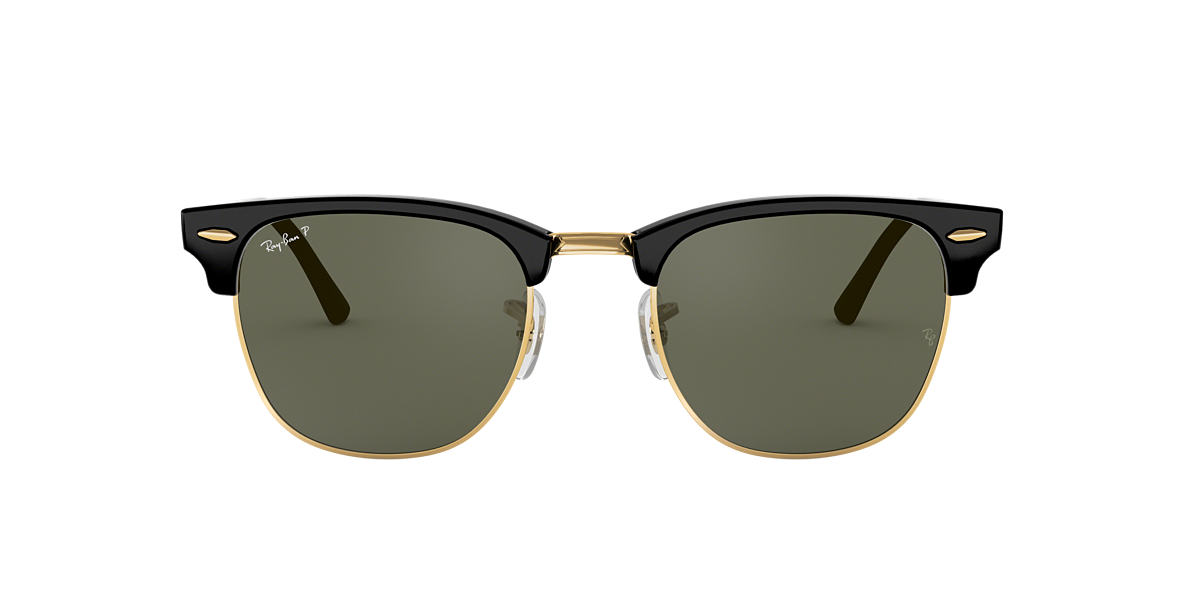 7d6a4d0224 RAY-BAN Black RB3016 Polarized Green Classic G-15 polarised lenses 51mm
