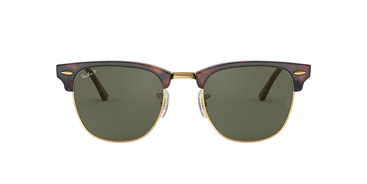 1fbd5aecb21f4 Fit  STD. RAY-BAN Tortoise RB3016 Polarized Green Classic G-15 polarized  lenses 49mm