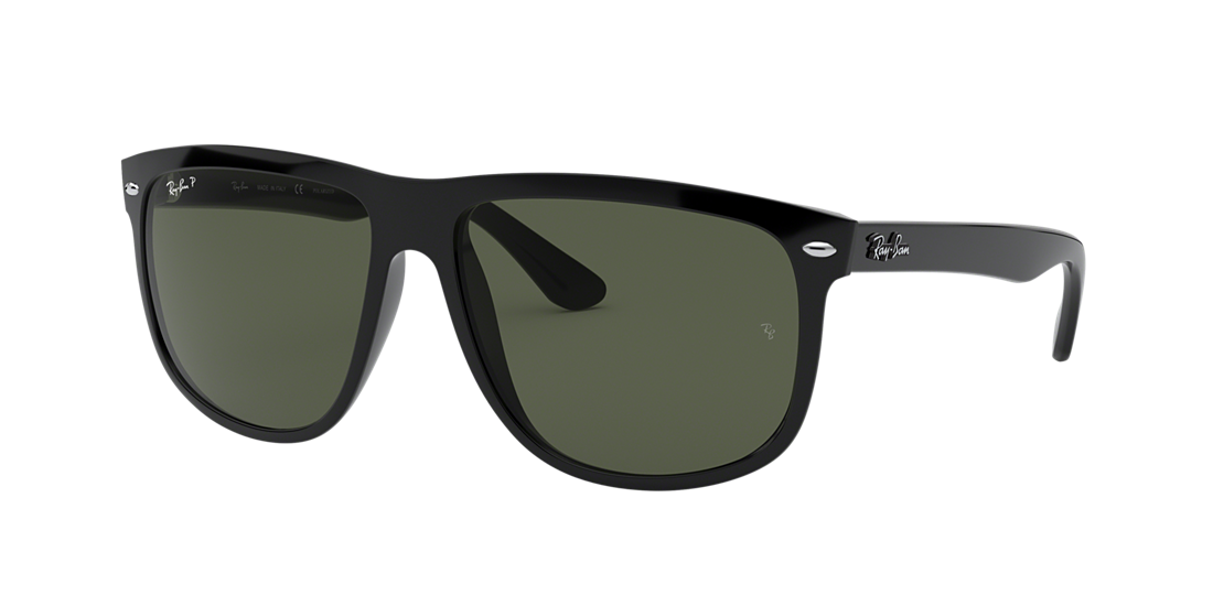 92c292f511 Ray-Ban RB4147 60 60 Polarized Green Classic G-15   Black Polarized ...