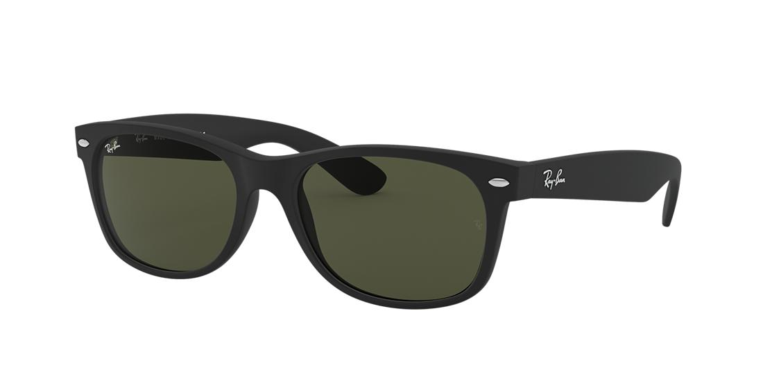Ray-Ban Black Matte Square Sunglasses - rb2132