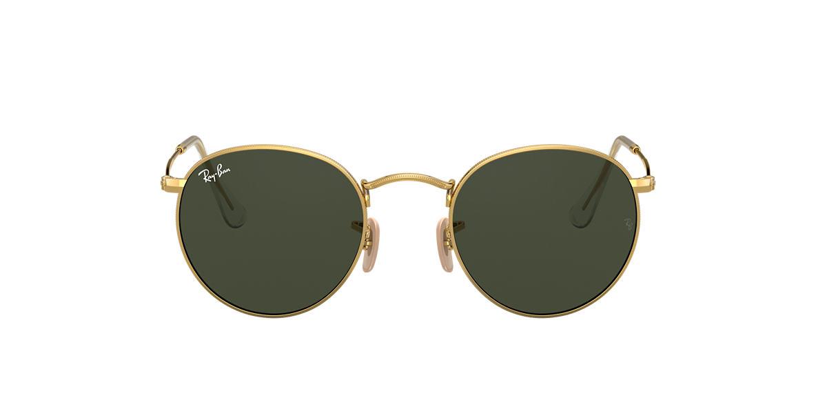 abdf4a4fdf Ray-Ban RB3447 47 Green Classic G-15   Gold Sunglasses