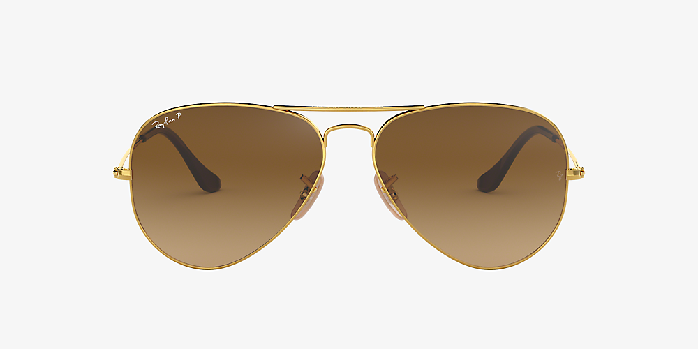 ray ban aviator 3025 polarized gold