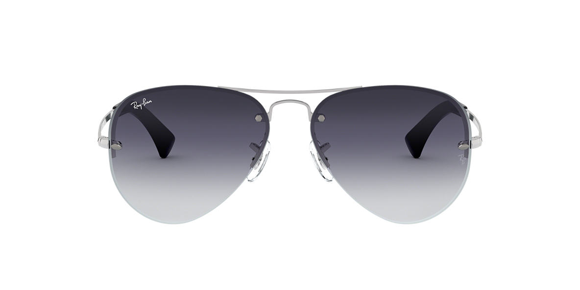 6a2918b60d Ray-Ban RB3449 59 Grey Gradient   Silver Sunglasses
