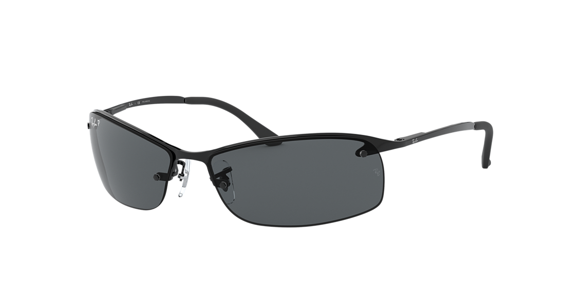 ddf3d5a4aa Frame  black. Lenses  polarized grey gradient. PDP Product Image