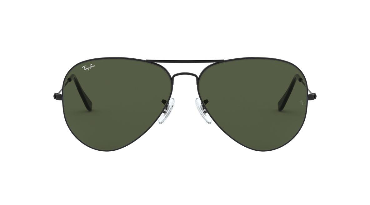 1a2fa9ea8a Ray-Ban RB3025 62 Green Classic G-15   Black Sunglasses
