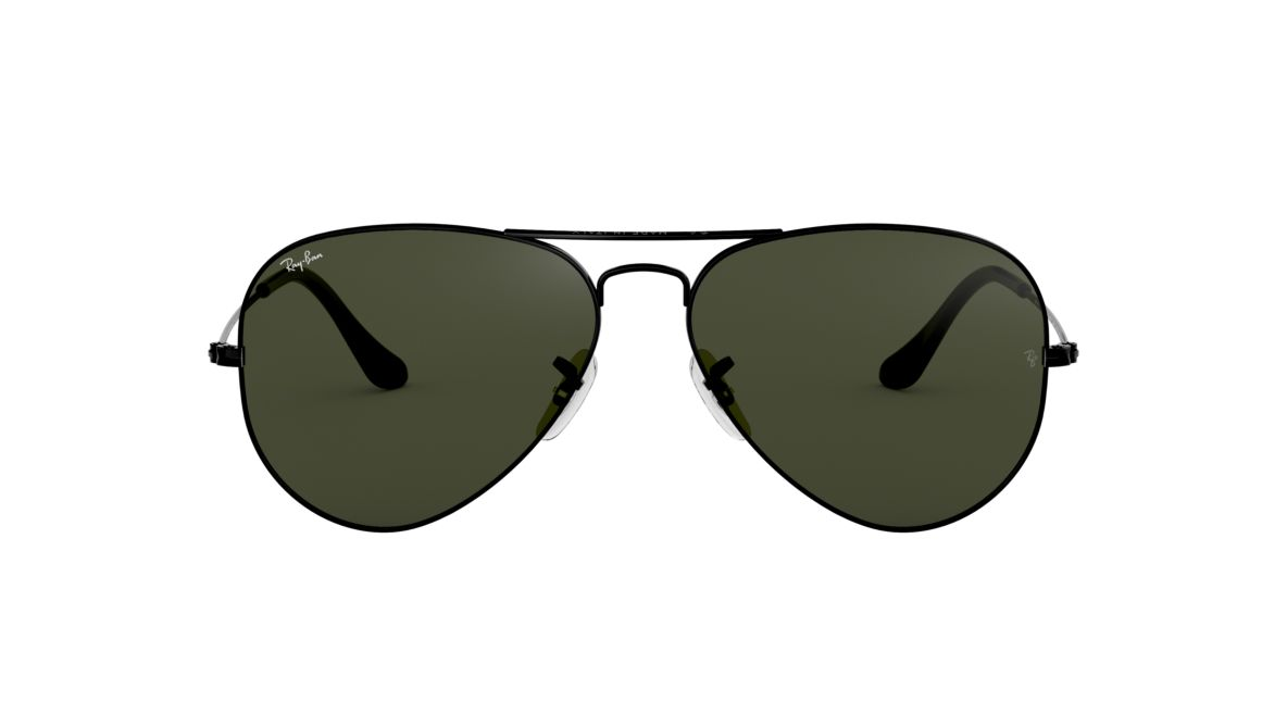 4b6e5205254 Ray-Ban RB3025 58 Green Classic G-15   Black Sunglasses