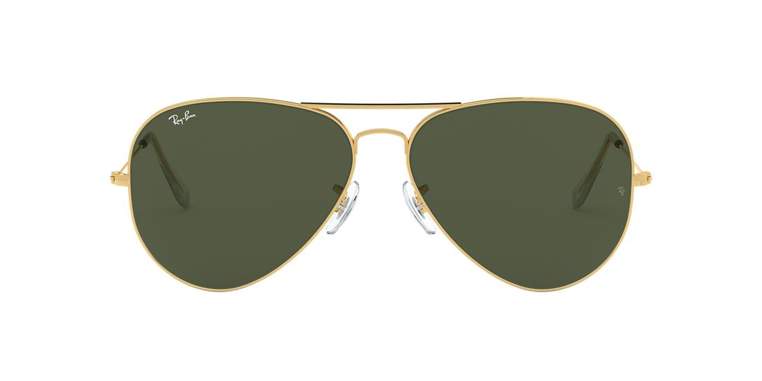 d2d62b050c Ray-Ban RB3026 AVIATOR II LARGE 62 Green Classic G-15   Gold ...