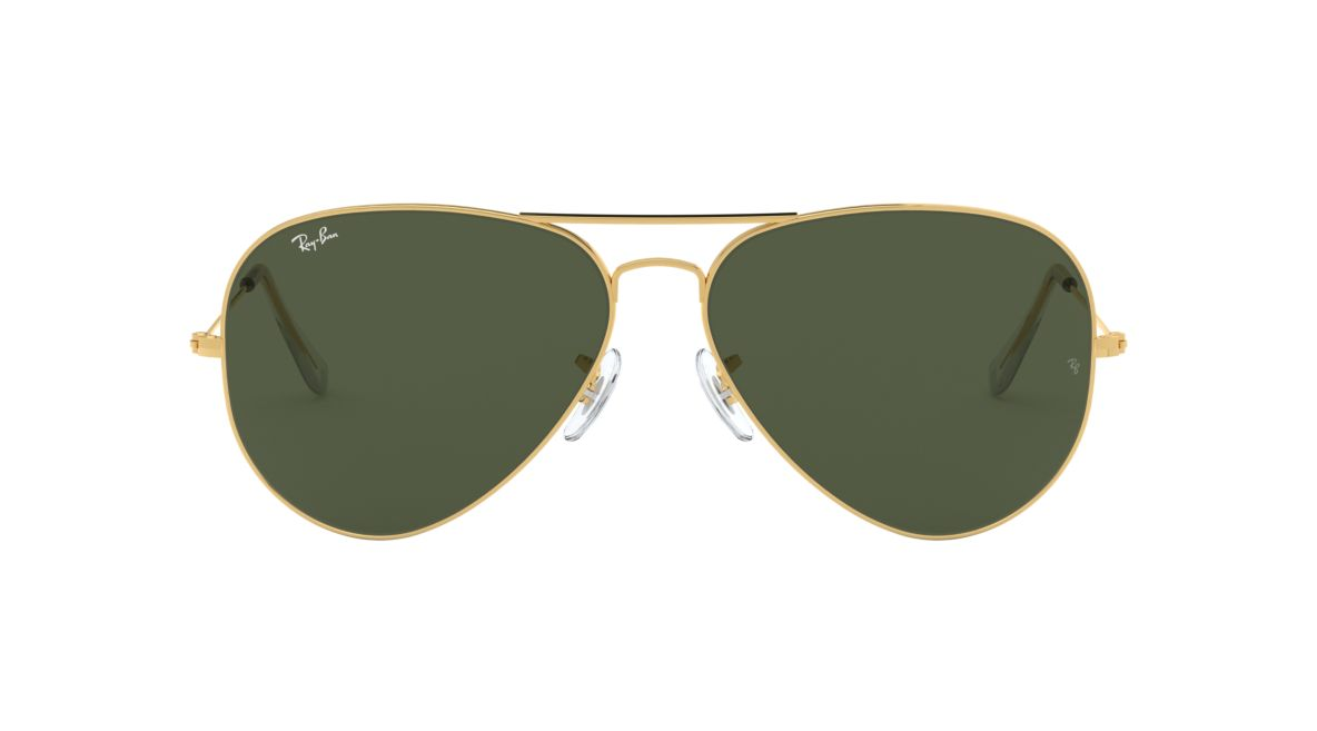 78df382c27 Ray-Ban RB3026 AVIATOR II LARGE 62 Green   Gold Sunglasses ...