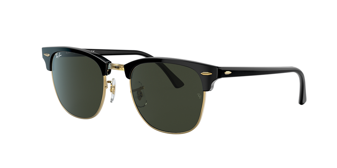 2d7a8c0ac82cf Ray-Ban RB3016 49 Green Classic G-15   Black Sunglasses
