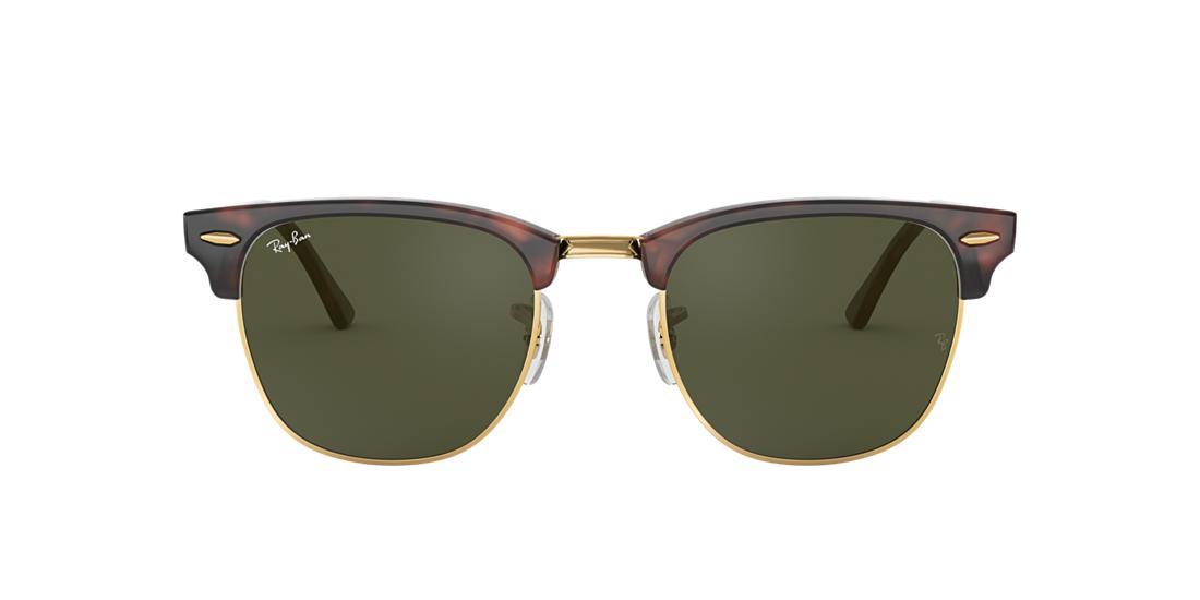 0c5ab8672cbf8 Ray-Ban RB3016 49 Green Classic G-15   Tortoise Sunglasses ...