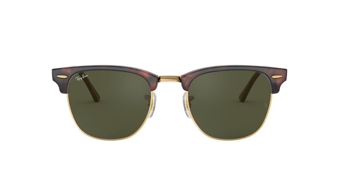 8196b197ca Ray-Ban RB3016 49 Green Classic G-15   Tortoise Sunglasses ...