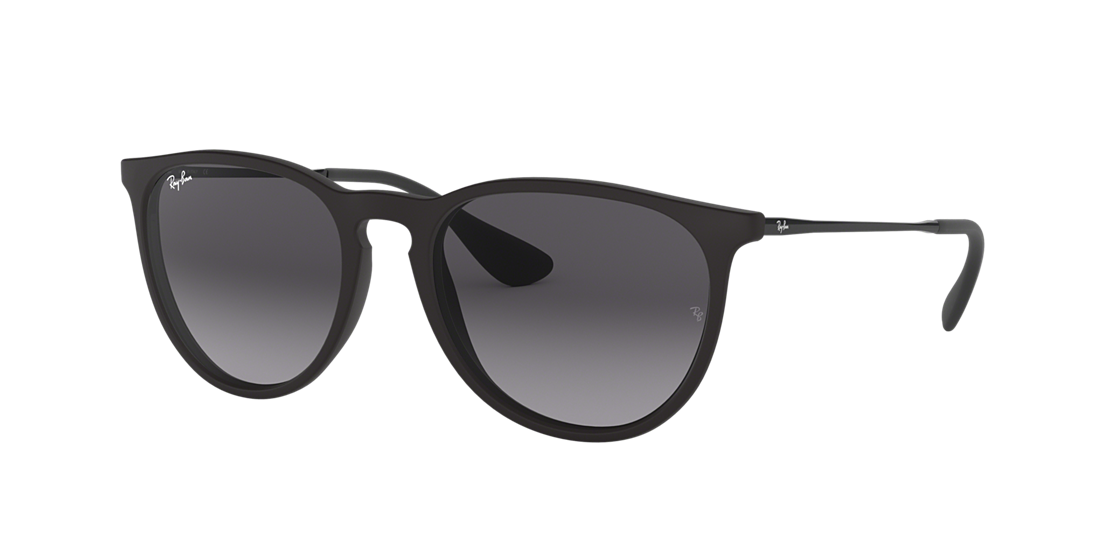 b7b9528916b6d Ray-Ban RB4171 ERIKA 54 Grey Gradient   Black Sunglasses