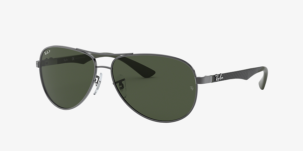 ray ban aviator polarized sunglass hut