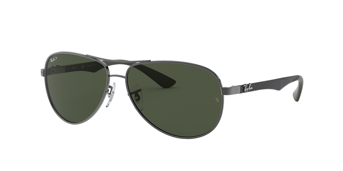 394d41be6cdd3 Ray-Ban RB8313 61 Polarized Green Classic G-15   Gunmetal Polarized ...
