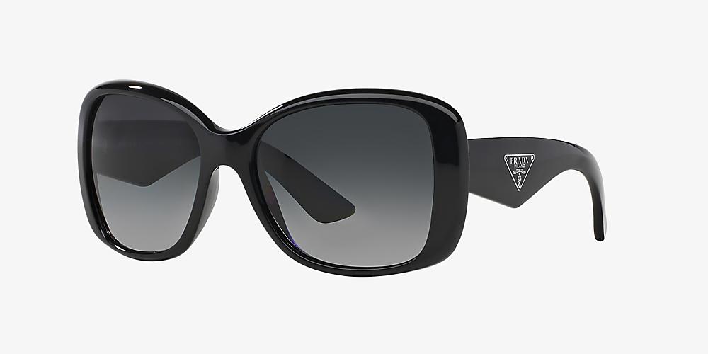 023adf5cb6de Prada PR 32PS 57 Grey-Black & Black Polarized Sunglasses | Sunglass ...