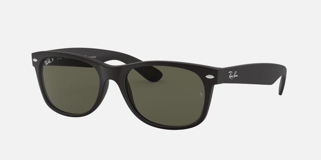 ray ban 2132 matte black polarized