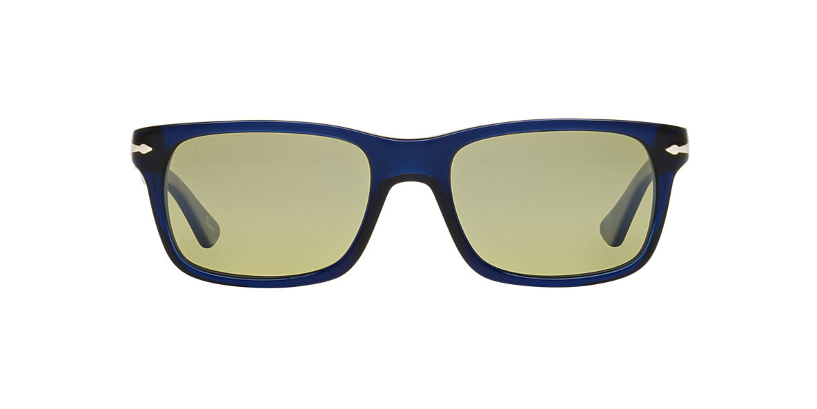 1b1c0bd9de4 Persol PO3048S 55 Grey-Black   Blue Polarized Sunglasses
