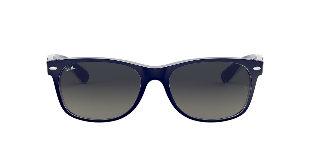 Blue RB2132 NEW WAYFARER COLOR MIX Grey-Black  52