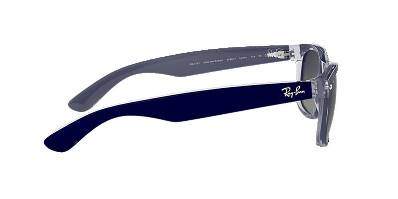 db9c11cd7c Ray-Ban RB2132 55 Grey Gradient   Blue Sunglasses