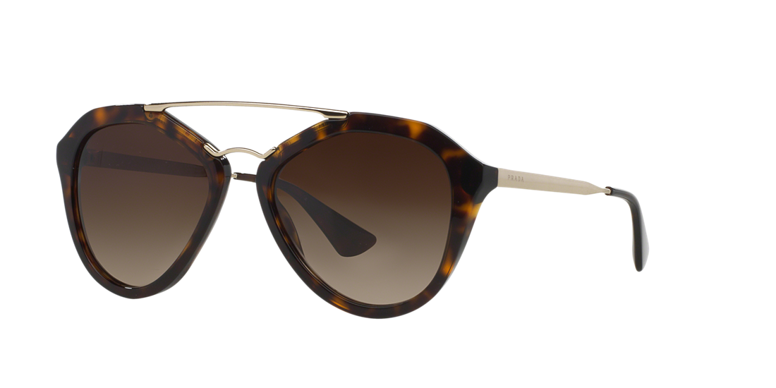 f1f23386bd Prada PR 12QS 54 Brown   Tortoise Sunglasses