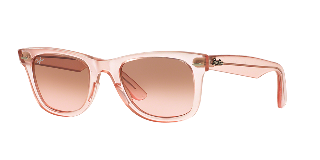 6417dc25f3 Ray-Ban RB2140 50 Brown Pink Gradient   Pink Sunglasses