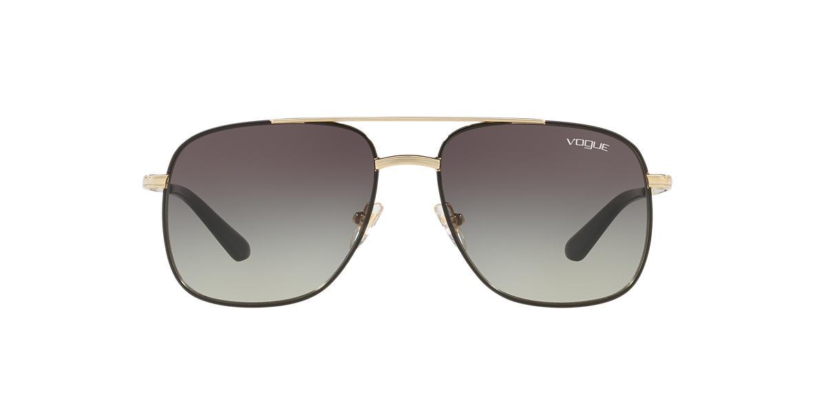 Gold VO4083S Gigi Hadid x Vogue Eyewear Grey-Black  55