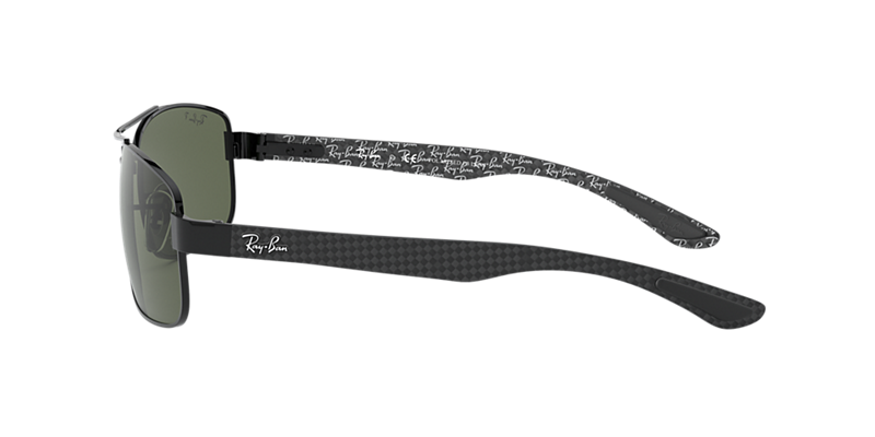 a4fec83a68939 Ray-Ban RB8316 62 Polarized Green Classic G-15   Black Polarised ...