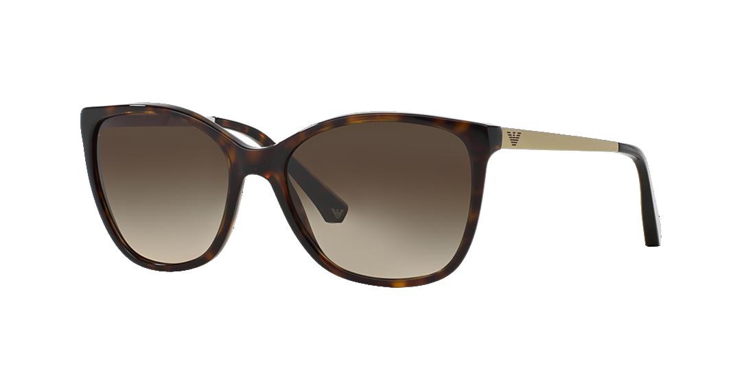 342de7820e9 Emporio Armani EA4025 55 Brown   Tortoise Sunglasses
