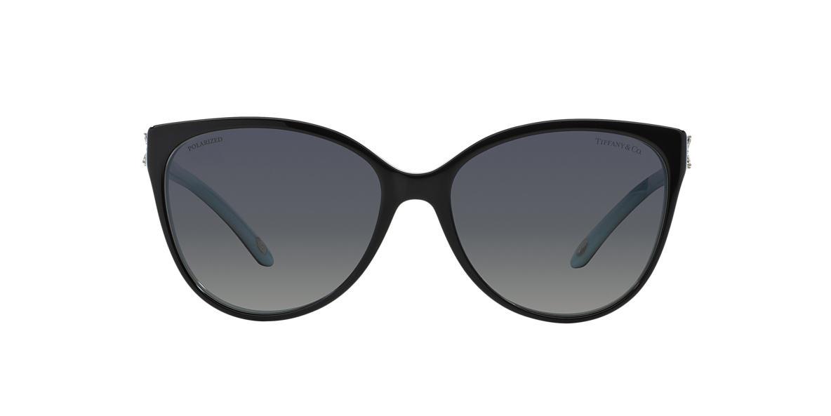 Black TF4089B Tiffany Victoria Grey-Black  58