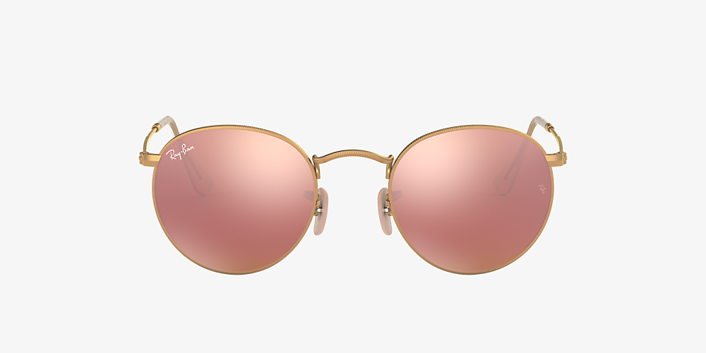 ray ban 3447 rose gold
