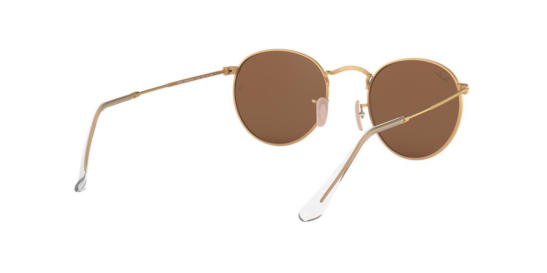 aee3146f63 Óculos de Sol Ray-Ban RB3447 Round Metal Lentes Espelhadas ...